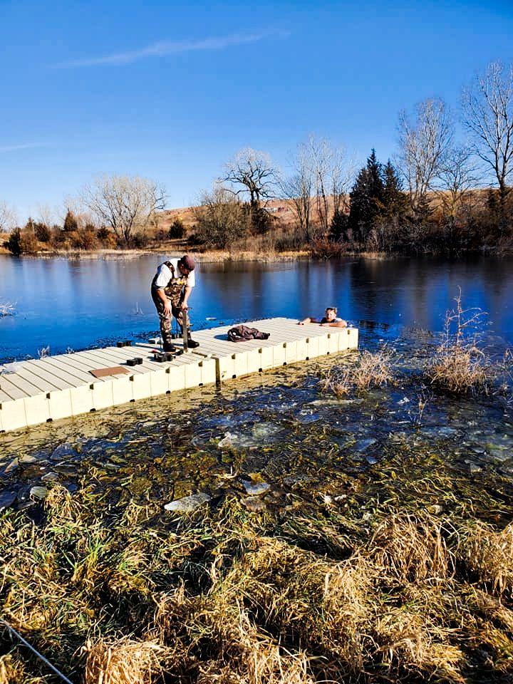 boat-dock-install-ice-lake