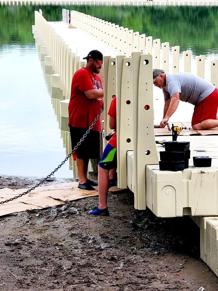 Boat Dock Installation