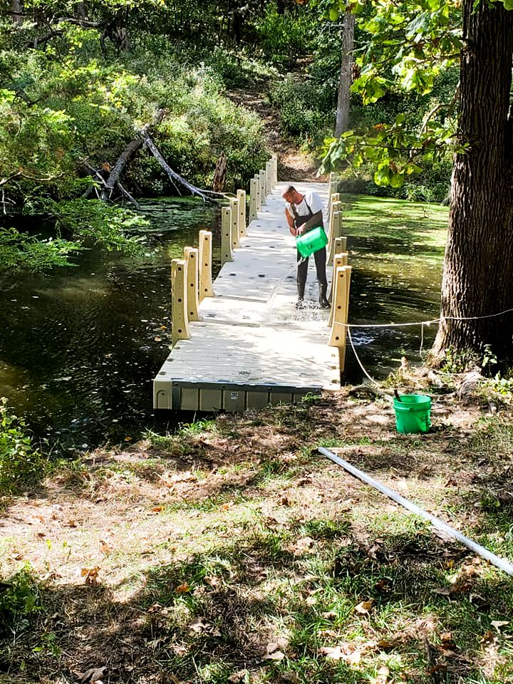 crewmember-cleaning-gangway-boy-scouts-pond