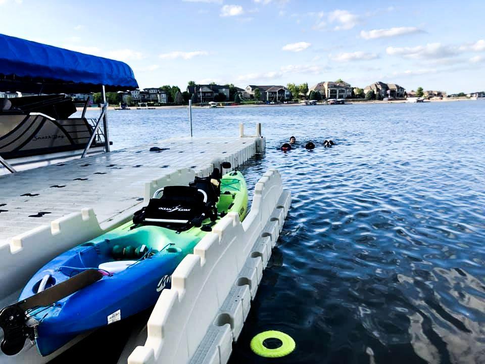 kayak-docked