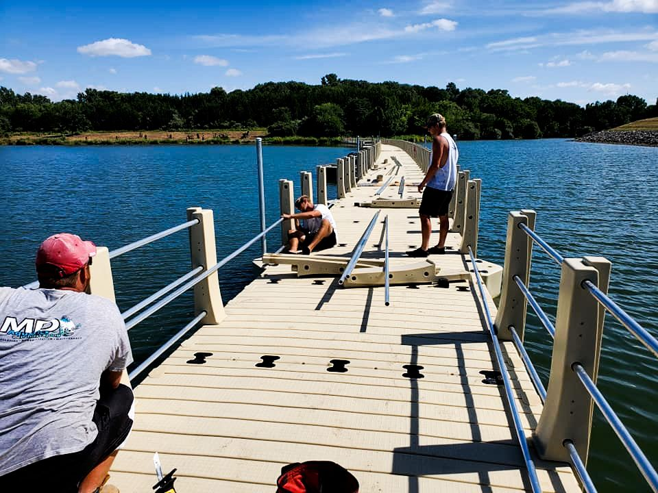 md-aquatics-crew-installing-railing-ada-gangway