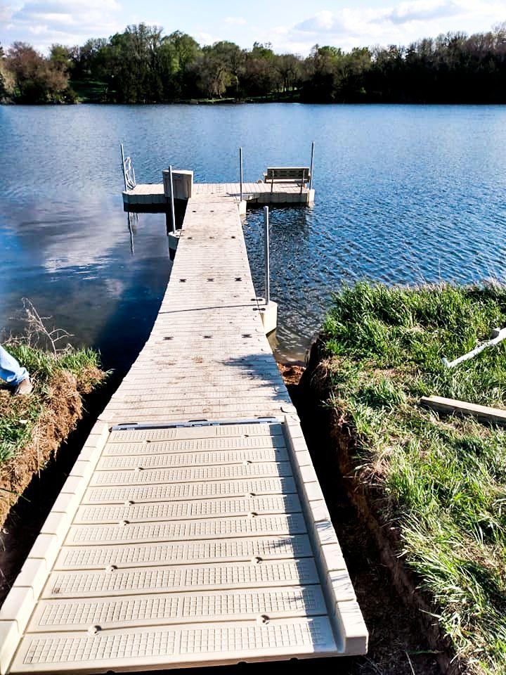 new-dock-install-bench