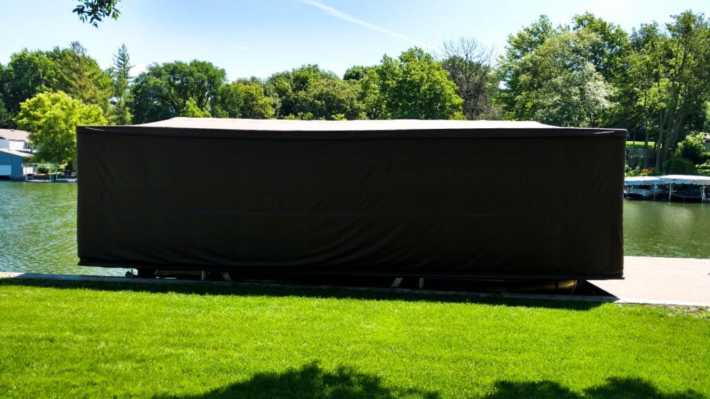 touchless-boat-cover-pontoon-boat-cover-down